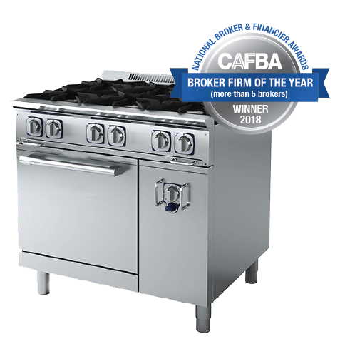 Catering Equipment with CAFBA Awards Badge