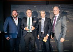 CAFBA Award - Ken Gordon win